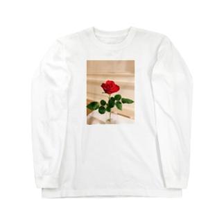 バラ Long sleeve T-shirts