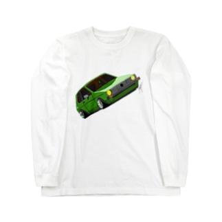 Slammed car② Long sleeve T-shirts