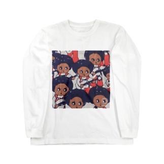 ギターガール Long sleeve T-shirts