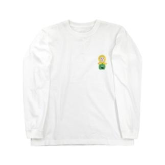 ばるばるーん Long sleeve T-shirts