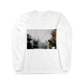 黄金の背中 Long sleeve T-shirts