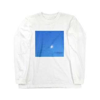 月と雲 Long Sleeve T-Shirt