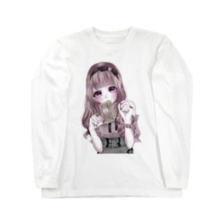 乞食ちゃん Long sleeve T-shirts