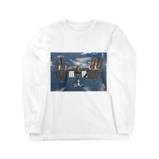国際宇宙ステーション( ISS ) Long sleeve T-shirts