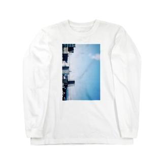モノレールに乗って Long sleeve T-shirts
