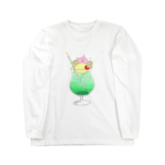 もんちクリームソーダ Long Sleeve T-Shirt