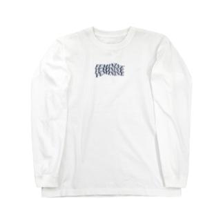 FEMININE navy Long sleeve T-shirts