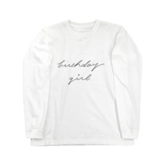 birthday girl Long sleeve T-shirts