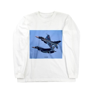 JASDF Mitsubishi F-2 Long sleeve T-shirts