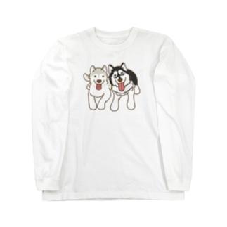 ラブアラン Long sleeve T-shirts