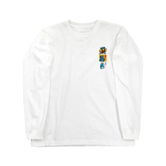 ロボットザブルー Long sleeve T-shirts
