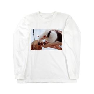 アリクイ Long sleeve T-shirts