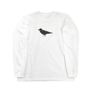 やたからす Long sleeve T-shirts