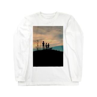 あの日の黄昏 Long sleeve T-shirts