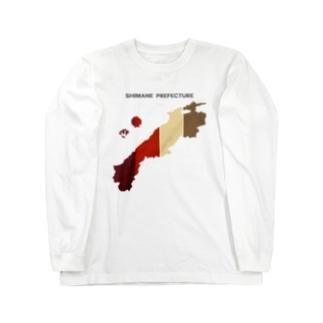 島根県 Long sleeve T-shirts