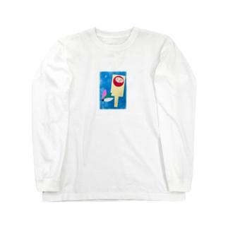 羽子板トントン Long sleeve T-shirts