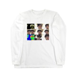 間違って撮ってしまった岩崎 Long sleeve T-shirts