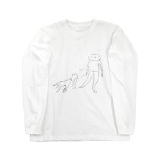ありふれた日常:sanpo Long sleeve T-shirts