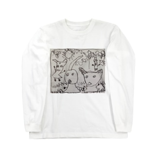 小人たち Long sleeve T-shirts
