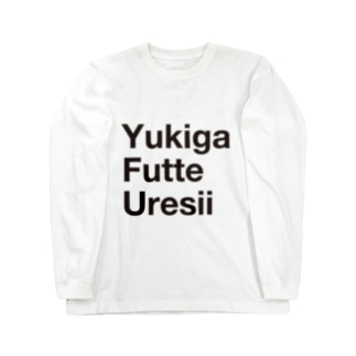 YFU(blk) Long sleeve T-shirts