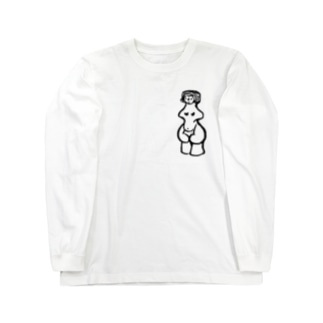 縄文のビーナスさん Long sleeve T-shirts