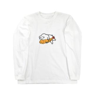 エビフライとうさぎ Long sleeve T-shirts