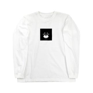 ZooBeeinu フェイス Long sleeve T-shirts
