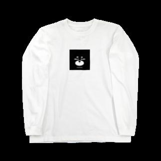 ZooBeeFooのZooBeeinu フェイス Long sleeve T-shirts