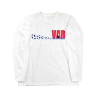 VARさんとボール Long sleeve T-shirts
