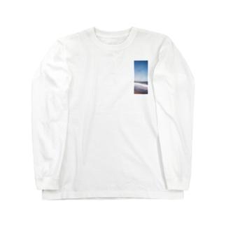 753.1のあの波 Long sleeve T-shirts