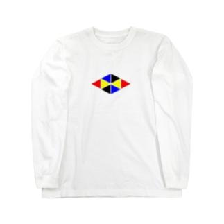 三角 Long sleeve T-shirts