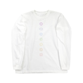 チャクラ Long sleeve T-shirts