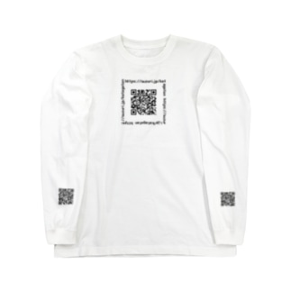 QRコード Long sleeve T-shirts