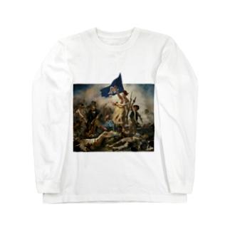 静岡県民を導く自由の女神 Long sleeve T-shirts