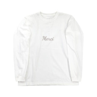 Merci Long sleeve T-shirts
