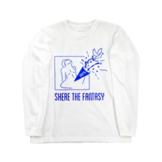 fantasticブルー Long sleeve T-shirts