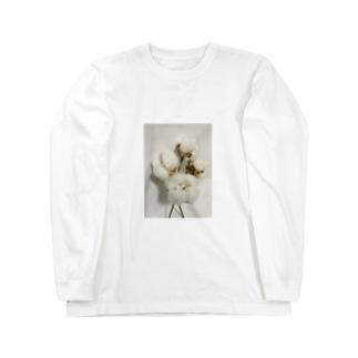 コットンボール Long sleeve T-shirts