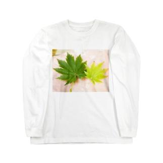 有明もみじTシャツ Long sleeve T-shirts