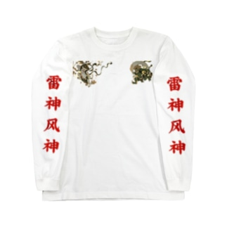 雷神風神 ロンT Long sleeve T-shirts