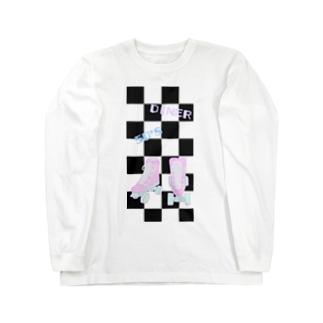 FD/50'sDINER ローラースケート Long sleeve T-shirts