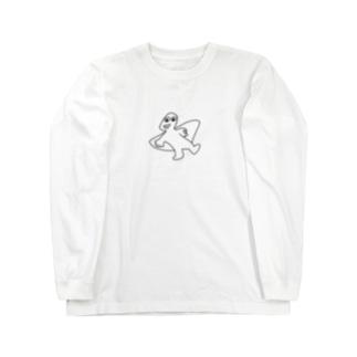 プテラノドン Long sleeve T-shirts