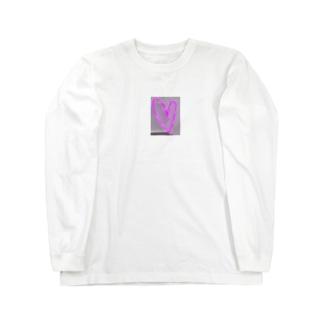 Neon Heart❤︎ Long sleeve T-shirts