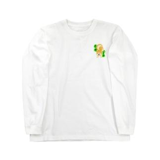 さかイッヌ アキタイヌ Long sleeve T-shirts