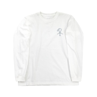 冬 紺色 Long sleeve T-shirts