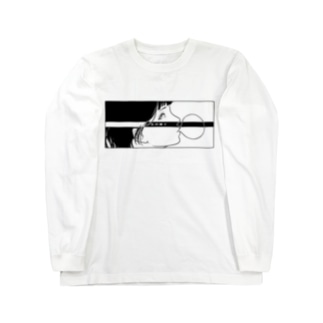 反抗少女-五月蝿イ-(black) Long sleeve T-shirts