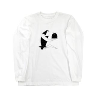 宇宙の女 Long sleeve T-shirts