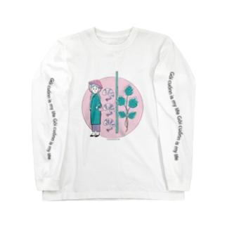 ツナマヨクラブ 生春巻き Long sleeve T-shirts