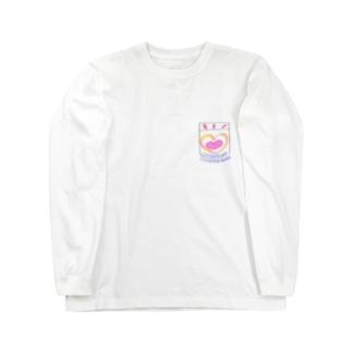 うちのこかわいいポッケ Long sleeve T-shirts