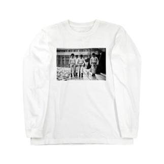 CLOCK WORK ORANGE AND CAT #チャリティー Long sleeve T-shirts