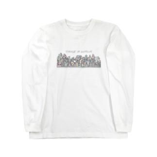 散歩 Long sleeve T-shirts